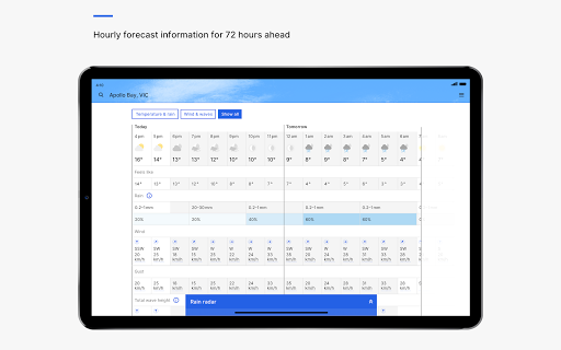 BOM Weather 4.1.0 Screenshots 11