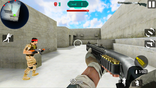 Gun Shoot War v 8.2 Мод (Unlimited gold coins) 2