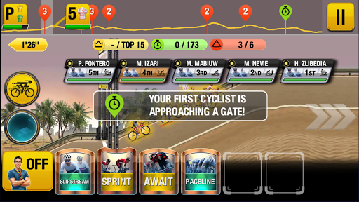 Tour de France 2021 Official Game - Sports Manager 1.6.3 screenshots 1