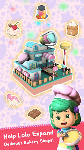 Kiko: Lola Bakery - Puzzle & Idle Store Tycoon  screenshots 1