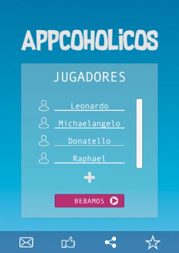 Appcoholicos - El mejor juego para Beber 1.0.7 Screenshots 1