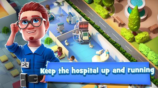 Dream Hospital - Health Care Manager Simulator apkpoly screenshots 19