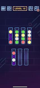 Neon Ball Sort - Bubble Color Sort puzzle Games 1.0.2 screenshots 1