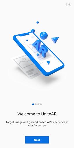 UniteAR - Augmented Reality App  screenshots 1