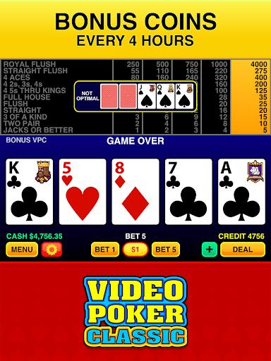 Video Poker Classic Free 3.3 screenshots 14