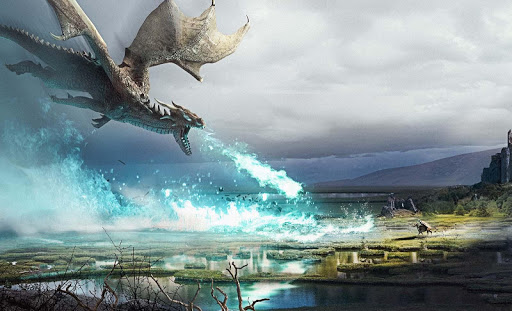 Fire Flying Dragon Simulator Warrior Sky Rider 3D 1.1 screenshots 1