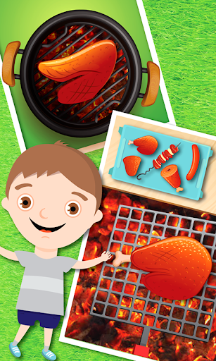 Barbecue charcoal grill - Best BBQ grilling ever 1.0.5 screenshots 4