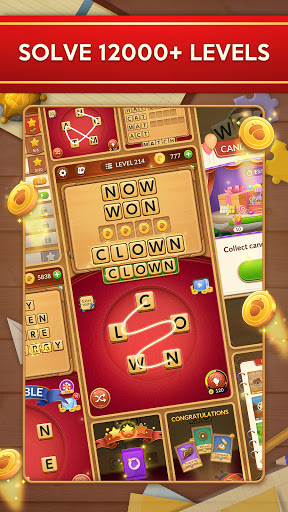 Word Card: Fun Collect Game apkpoly screenshots 6