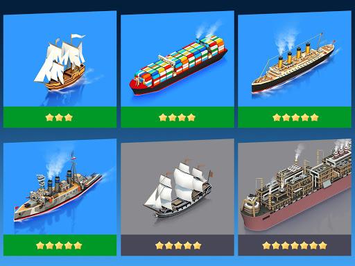 Sea Port: Cargo Ship & Town Build Tycoon Strategy 1.0.153 screenshots 10