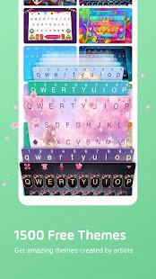 Facemoji Keyboard for Meizu-Themes & Emojis