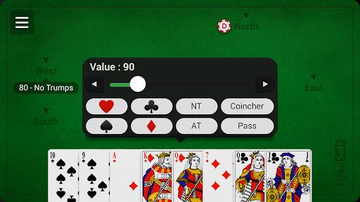 French Coinche - Free 3.1.6 Screenshots 3
