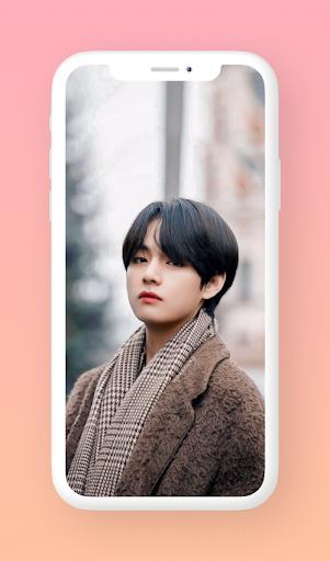 🐯 V (Kim Taehyung) Wallpaper 4K HD & Live Photos 1.1.2 screenshots 1