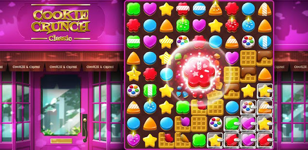 cookie crunch classic - sweet match 3 games hack