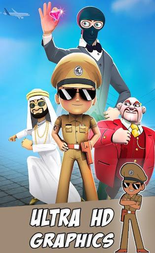 New Little Singham Mahabali Game - Police Cartoon 4 screenshots 2