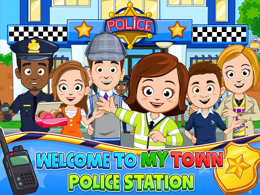 My Town : Police Station. Policeman Game for Kids screenshots 13