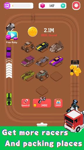 Merge Car Racer - Idle Rally Empire  screenshots 4