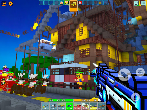 Cops N Robbers - 3D Pixel Craft Gun Shooting Games goodtube screenshots 10