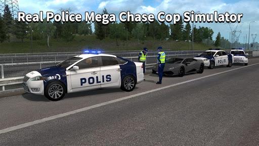 Police Car Chase Thief Real Police Cop Simulator screenshots 4