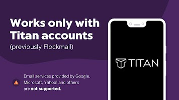 Titan - Mobile app for Titan mail accounts