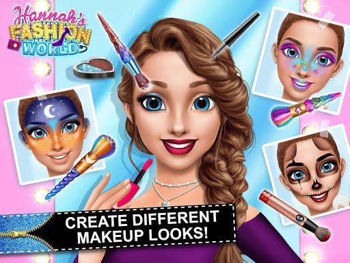 Hannahu2019s Fashion World - Dress Up & Makeup Salon  Screenshots 18