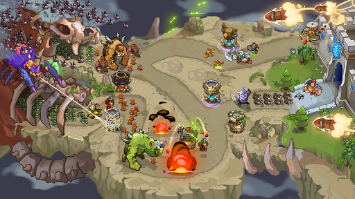 King of Defense Premium: Tower Defense Offline android2mod screenshots 5