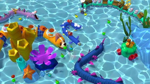 Snake Rivals - New Snake Games in 3D goodtube screenshots 9