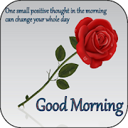 Good morning messages and flower rose pictures GIF