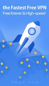 Snap VPN – Unlimited Free & Super Fast VPN Proxy Mod 4.4.2 5
