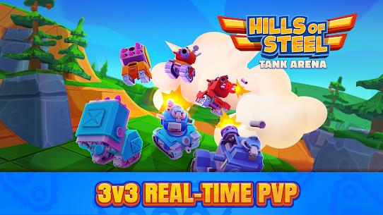Hills of Steel: Tank Arena Mod Apk 1.0.5 (Infinite Money) 1