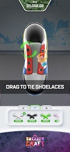 Sneaker Craft! MOD APK 1.0.7 (Unlocked Shoes/Stage) 3