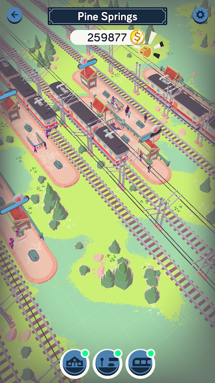 Train Station Idle Tycoon  poster 4