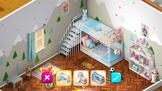 Room Flip Design Dream Home MOD (Unlimited Gold Coins) 1