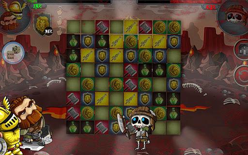 LEGENDARY MONSTER WAR PUZZLE  screenshots 12