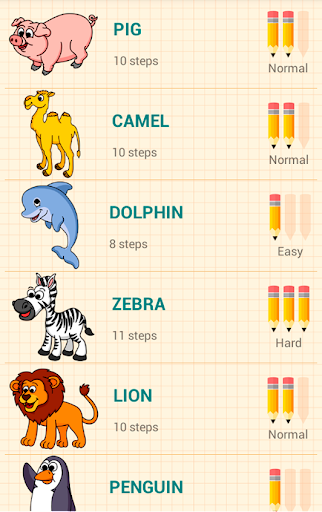 How to Draw Animals 5.1 Screenshots 17
