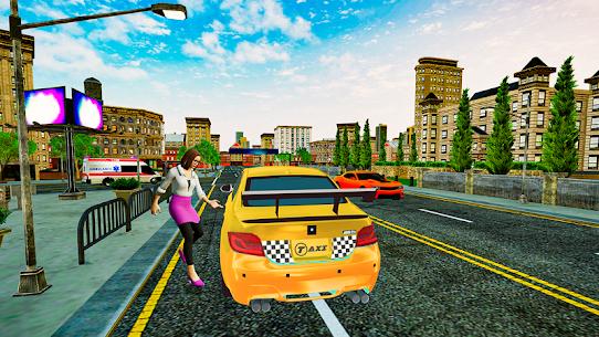Grand Taxi Simulator APK MOD HACK (Dinero Infinito) 3