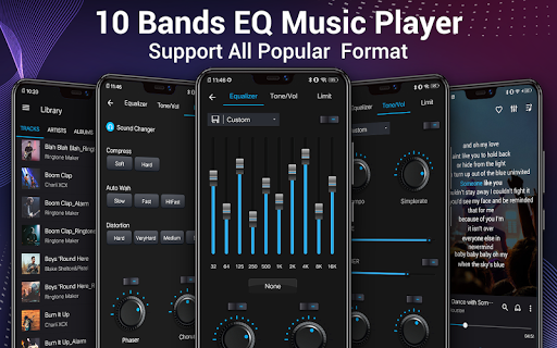 Music Player - Audio Player & 10 Bands Equalizer 1.8.1 Screenshots 1