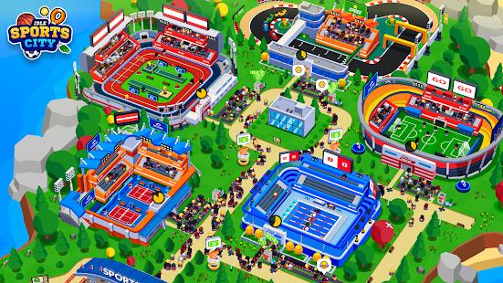 Sports City Tycoon - Idle Sports Games Simulator Mod Apk