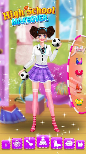 School Makeup Salon apklade screenshots 2