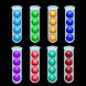 ボールソートカラーパズル:ゲームのソート
