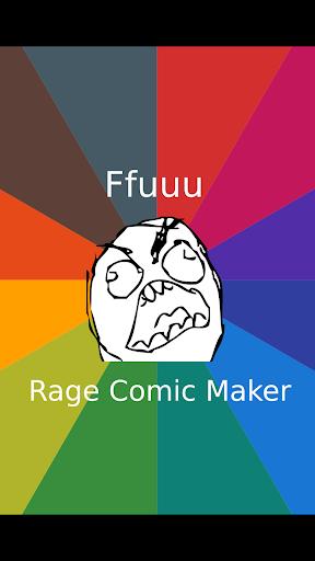 Ffuuu - Rage Comic Maker 1.48 Screenshots 1