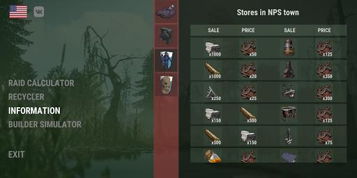Rust Helper : Raid Calculator + Builder Simulator 0.3.1 screenshots 6
