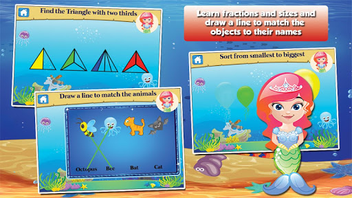 Mermaid Princess Grade 1 Games 3.15 screenshots 8