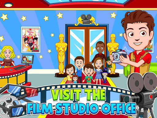 My Town : Cinema & Movie Star - Kids Movie Night 1.10 screenshots 9
