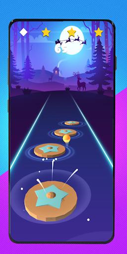 Cartoon cat - Hop round tiles edm rush  screenshots 3