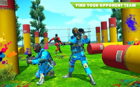 Paintball Arena Royale Shooting Battle: Color War 1.1 [MOD APK] Latest 1