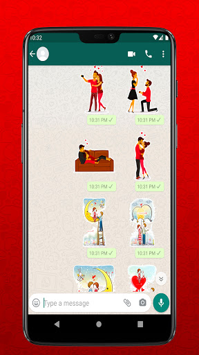 I Love You Stickers for Whatsapp - WAStickerapps  Screenshots 4
