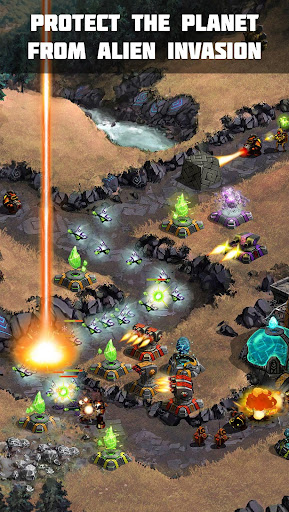 Ancient Planet Tower Defense Offline  screenshots 11