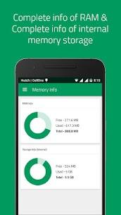 Memory Info (RAM, ROM Internal & SD Card External) PRO MOD APK 4