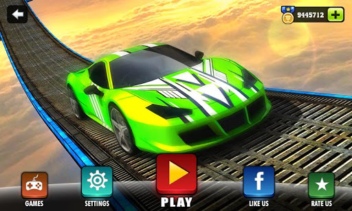 Impossible Stunt Car Tracks 3D screenshots 1