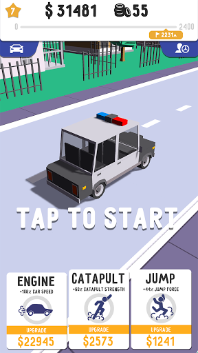 Stuntman: Ragdoll simulator games with trampoline  screenshots 2